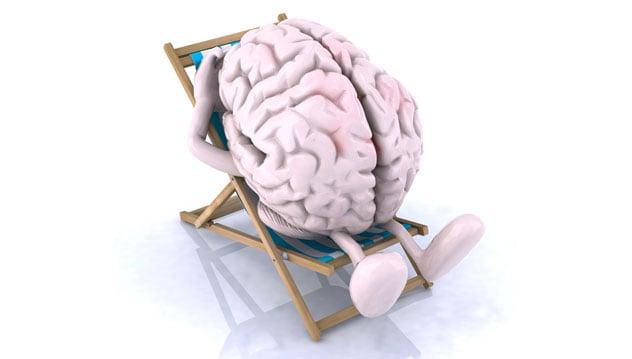Cerveau au repos