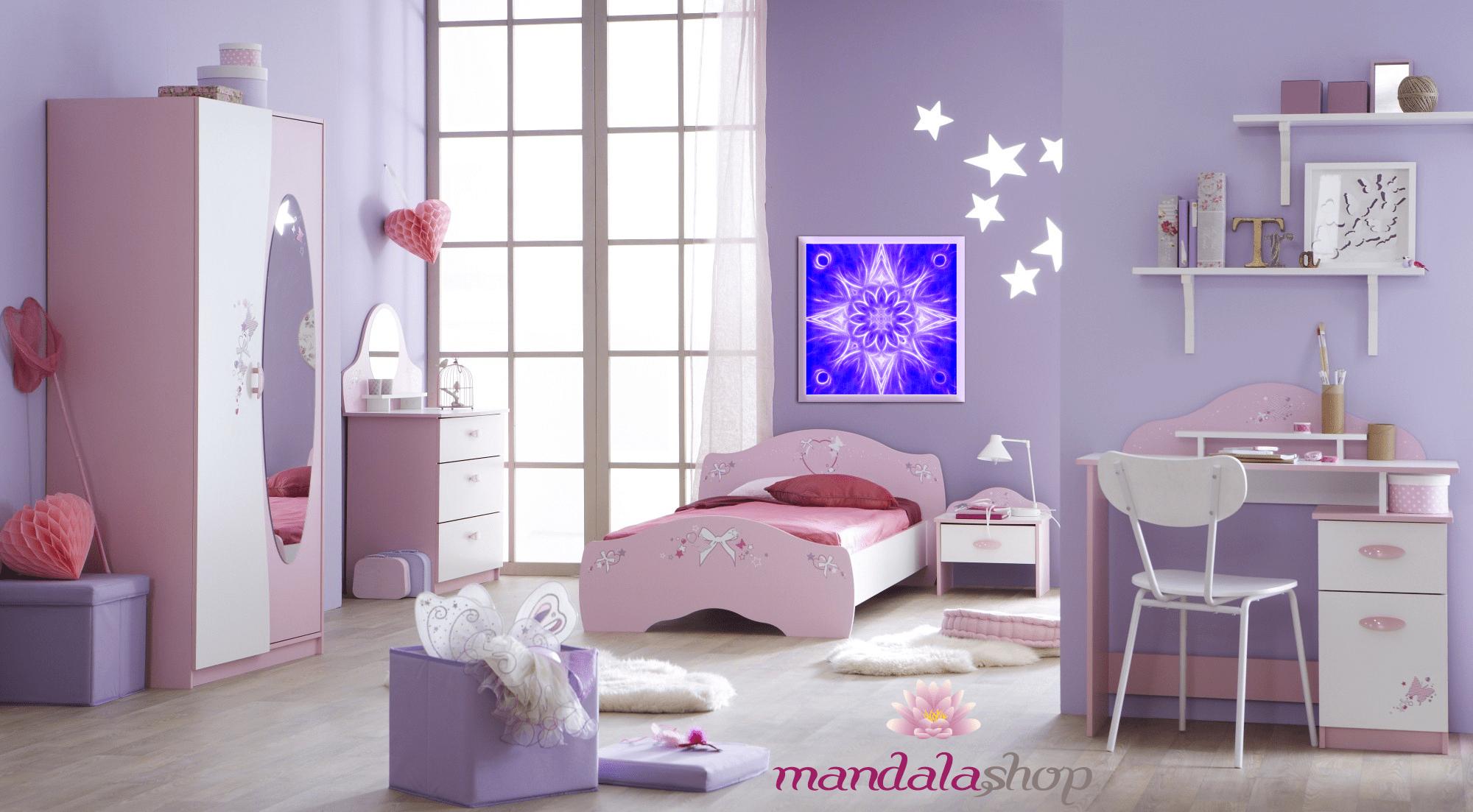 chambre enfant mandala