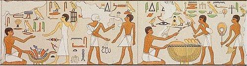Le troc en Egypte