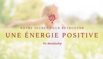 Our secret to recover a positive energy